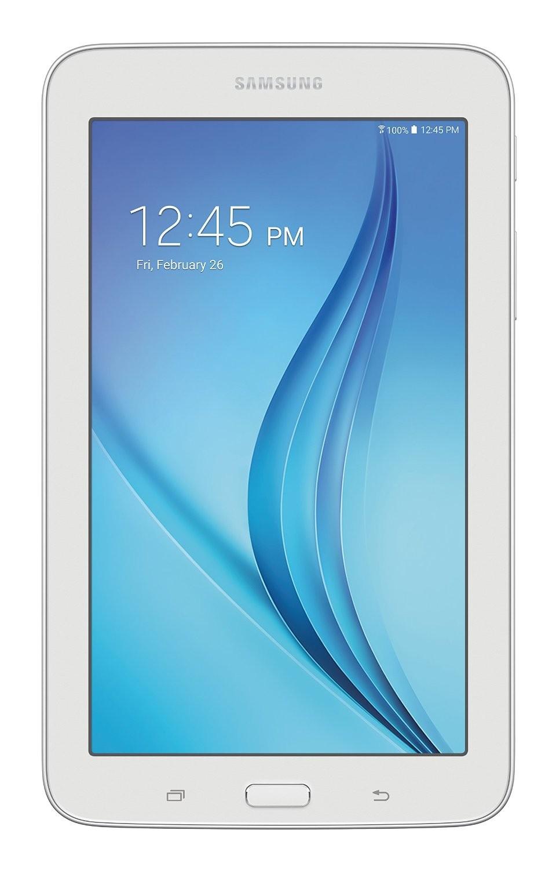 """Samsung Galaxy Tab E Lite 7""""; 8 GB Wifi Tablet (White) SM-T113NDWAXAR"""